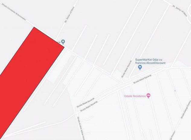 Teren de vanzare 4.58 Ha in Otopeni/Odaile - Zona C-tin Brancoveanu - imaginea 1