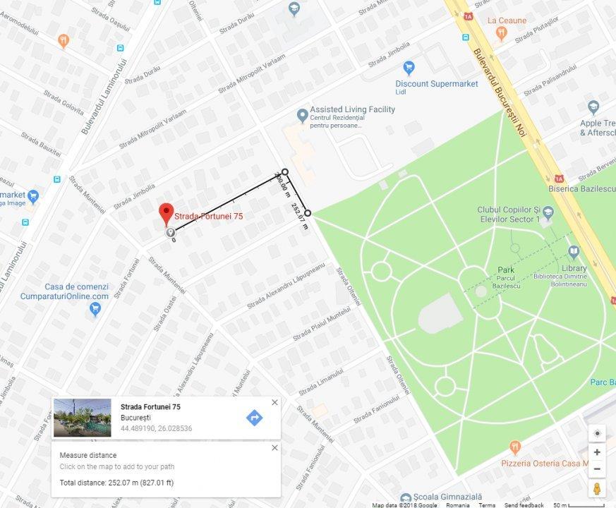 Teren Autorizatie Constructie Fortunei Bazilescu Bucurestii