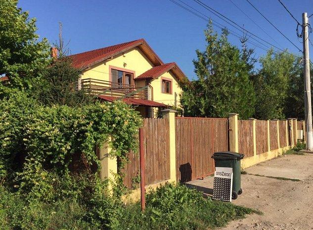 Vila 206 mpu, Snagov, Ghermanesti, toate utilitatile, livada 1100m+ANEXA 53 mpu - imaginea 1