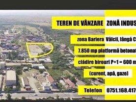 Teren construcţii de vânzare în Craiova, Bariera Valcii