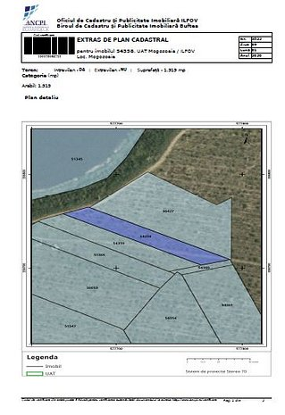 vand teren la lacul Mogosoaia, deschidere lac 20m - imaginea 1