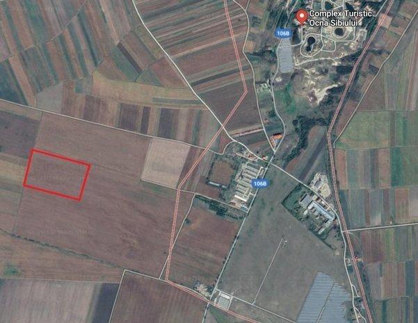 Teren de vanzare Ocna Sibiului 26000 mp, langa Sibiu | Land for sale - imaginea 1