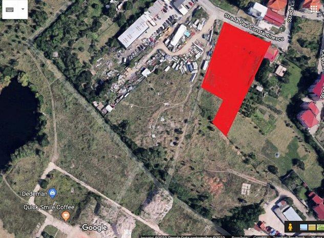 Teren intravilan rezidential P+4 sau comercial, langa Shopping City Timisoara - imaginea 1