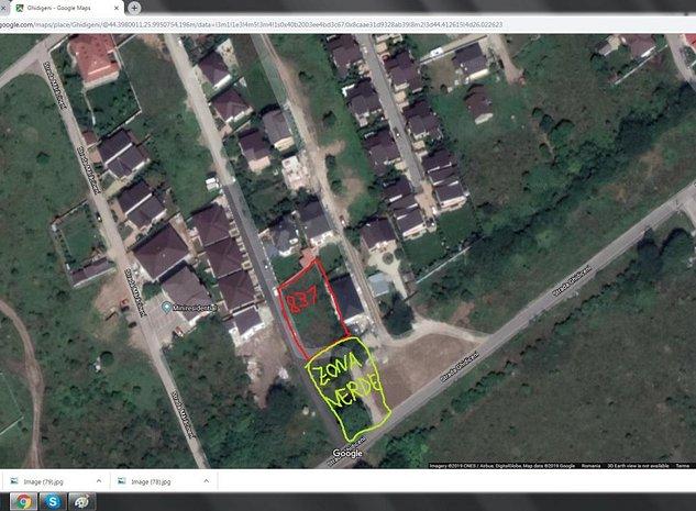 Teren proprietate 991mp+600mp-concesiune Ghidigeni-Prelungirea Ghencea - imaginea 1