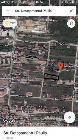 Teren intravilan , ANL parc Romanescu. 2130 mp - imaginea 1