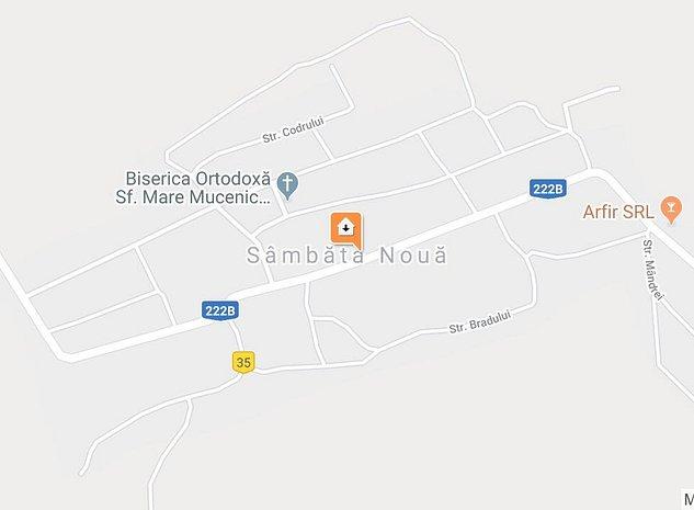 Vand loturi teren construibil, intabulare, intravilan ultracentral sat Sambata, - imaginea 1