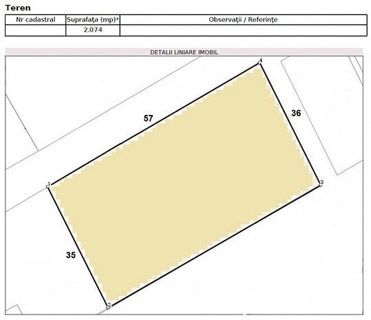 Teren - Intrarea  Straulesti - Poligrafiei - P+5 - imaginea 1