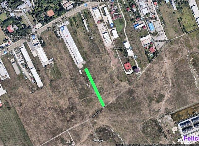 PROPRIETAR teren 4.300 mp 75 EUR/mp sectorul 1 Odai Sisesti Padurea Baneasa - imaginea 1