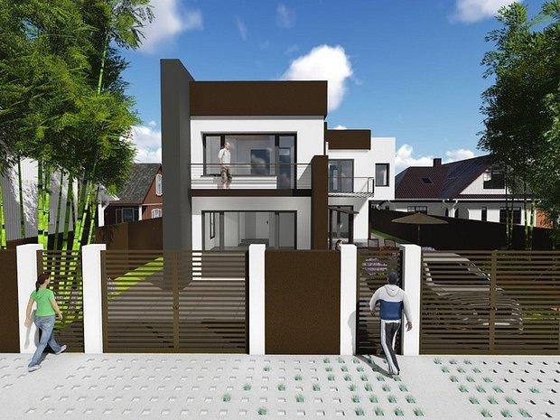 Casa / vila, stil mediteranean P+1, Valu lui Traian - imaginea 1