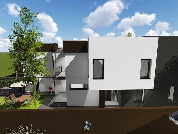 Casa / vila, stil mediteranean P+1, Valu lui Traian - imaginea 2