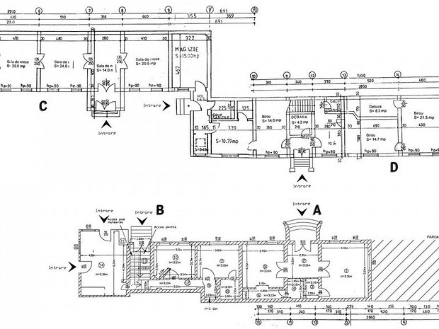 P+M (1000mp), curte (1750mp),Unirii-Matei Basarab, multiple destinatii - imaginea 1