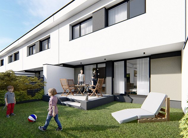 Dakin Residence-Casa Bucuresti Ghencea 4 cam+CURTE -STRADA PRIVATA- FINISAJE LUX - imaginea 1