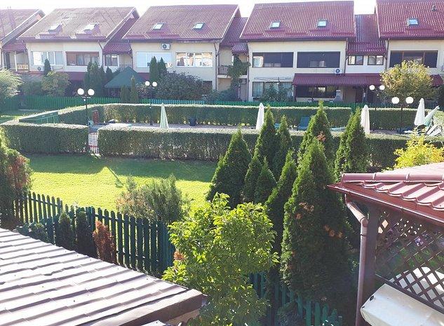Vila in Bucuresti Pipera ansamblu rezidential Domus Confort de inchiriat - imaginea 1