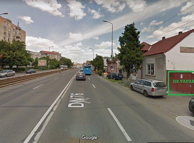 Teren cu constructii cu acces din strada Dimitrie Cantemir - imaginea 1