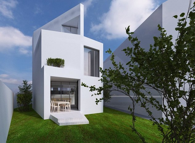 Casa finalizata 2020, 5 camere, Design Scandinav - 2 terase + 2 garaje - imaginea 1