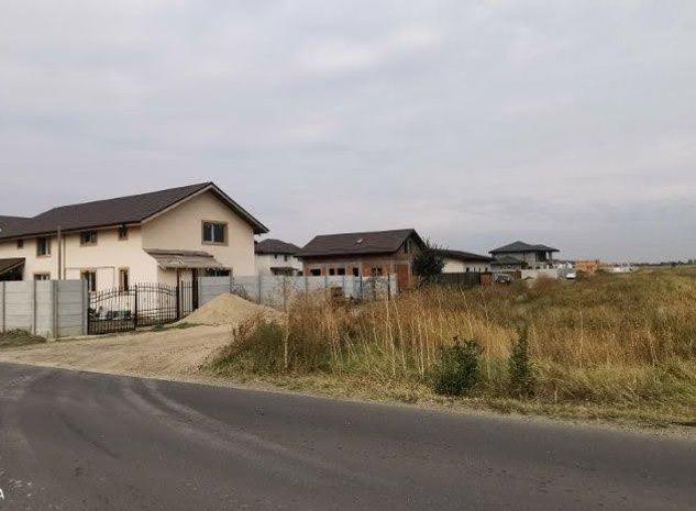 Teren Loturi Casa 400mp 500mp 1000mp Str.Bucuresti Varteju Magurele - imaginea 1