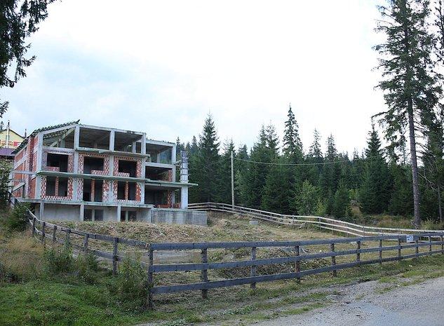 Teren si constructie la rosu  - Statiunea Muntele Baisorii - Judetul Cluj - imaginea 1