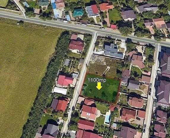 TEREN ZONA VILE, PANTELIMON, CERNICA LEBADA, 1100 mp(langa Lidl si Mega Image) - imaginea 1