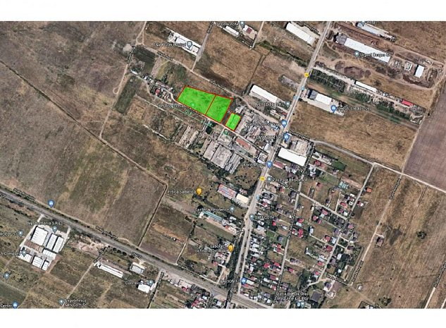 vand teren  in Magurele 17000, liber de sarcini, CF5,57881- proprietar - imaginea 1