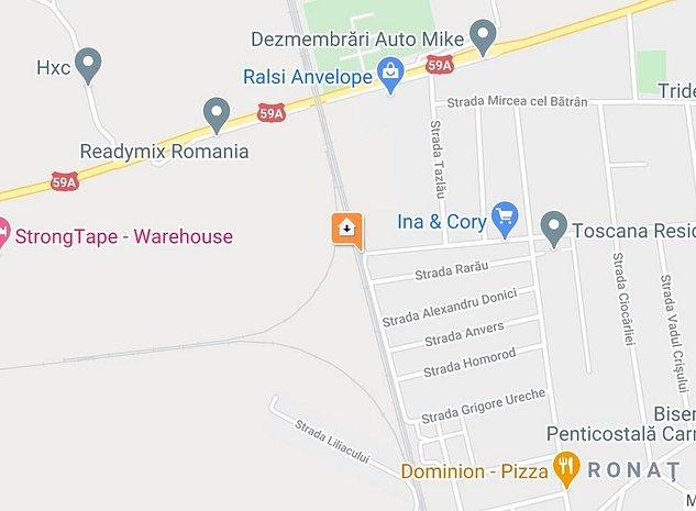 Vând 5 ha, intravilan, la 10 km de Timisoara - imaginea 1
