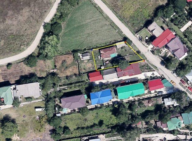 Otopeni, Odai, Strada Scolii, Intravilan, 582mp - imaginea 1