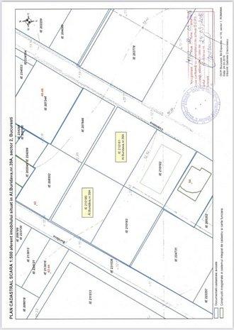 Direct propietar, Fundeni,2loturi, 1245 mp, dubla deschidere, pers juridica. - imaginea 1