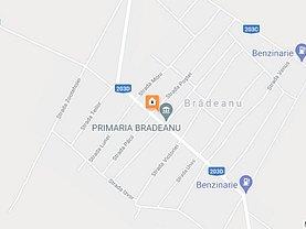 Teren constructii de vânzare, în Brădeanu