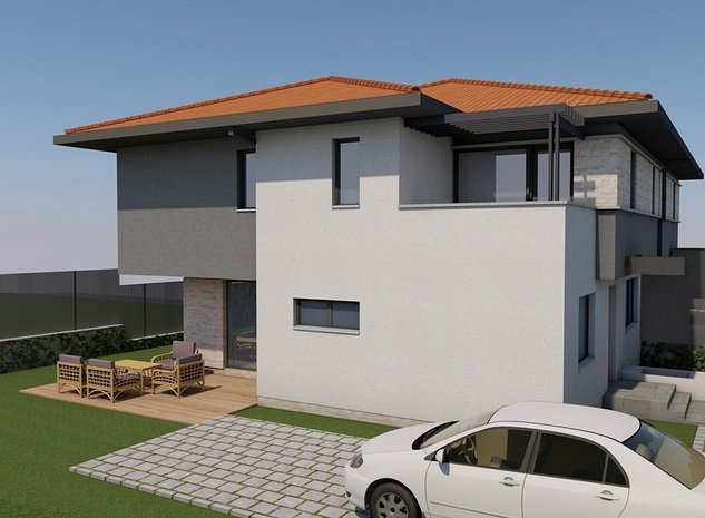 Duplex in Borhanci, str. Veseliei, 193 mp utili, 300 mp de teren - imaginea 1