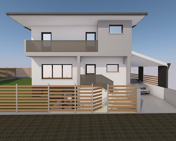 Vand casa D+P+E individuala 144mp utili+apa,gaz,curent,canalizare,beci - imaginea 1