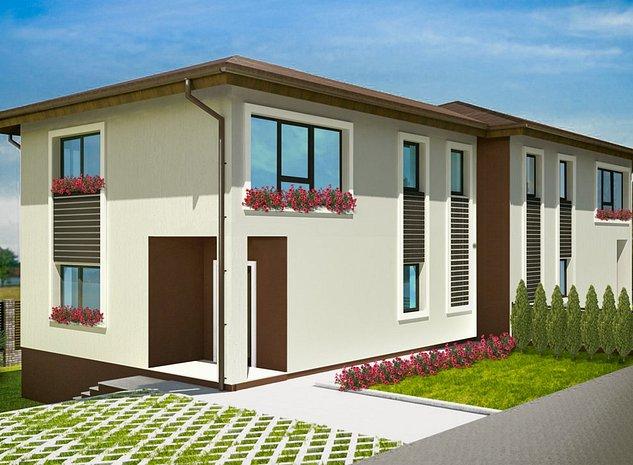Casa noua in Dezmir o Asfalt + Teren drept + Zona linistita - imaginea 1