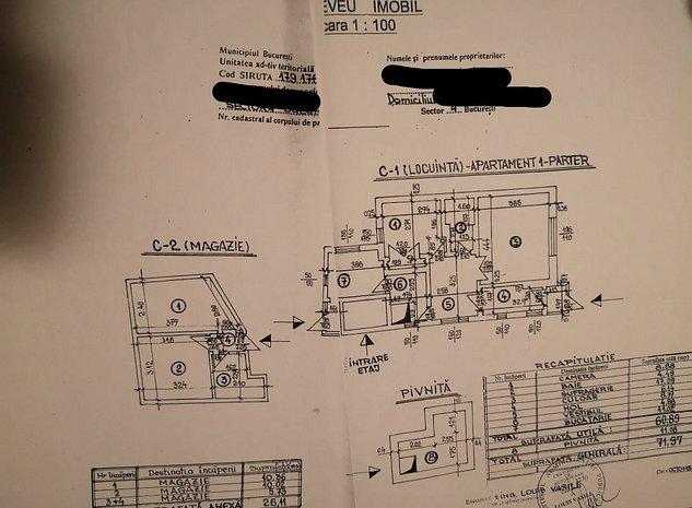 Direct proprietar - Casa de vanzare zona Giurgiului - imaginea 1