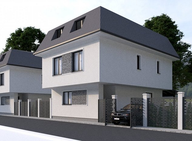 Casa individuala Bragadiru strada Ghidigeni - imaginea 1