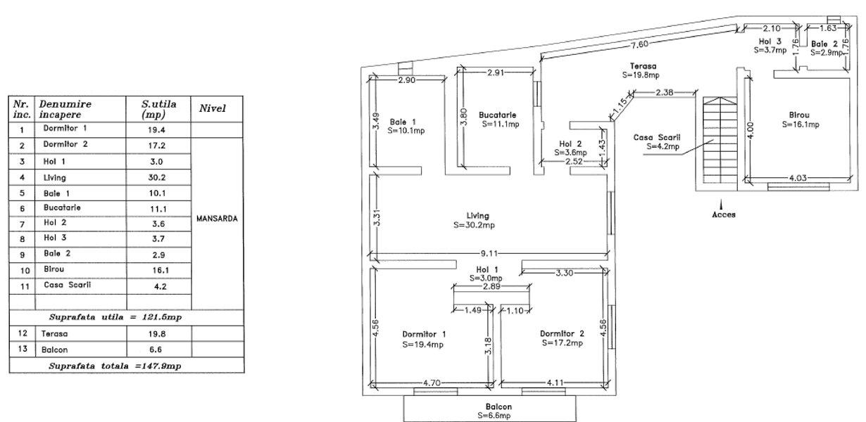 Casa cu doua apartamente - recent renovata - imaginea 15