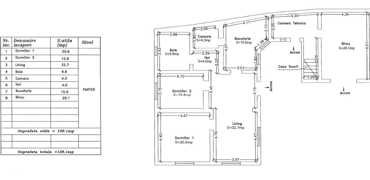 Casa cu doua apartamente - recent renovata - imaginea 16