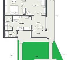 Casa de închiriat 2 camere, în Satu Mare, zona Central