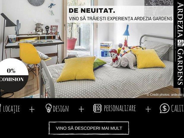 ARDEZIA GARDENS: Dormitor | Apt. 5. | Optiunea 1