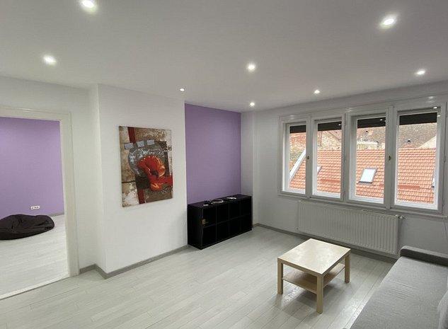 Apartament cu 2 camere - ULTRACENTRAL - de inchiriat, direct de la proprietar - imaginea 1