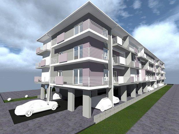 Apartamente in bloc nou str. Constantin Prezan (fosta Lidia) nr.8 - imaginea 1