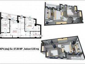 Apartament de vânzare 2 camere, în Suceava, zona George Enescu