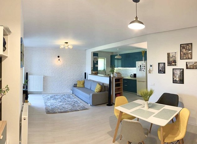 Inchiriez apartament 3 camere Barbu Vacarescu, vedere parc, loc parcare - imaginea 1