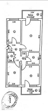 Apartament 3 camere 2 balcoane. Zona Panait Cerna etajul 1. PRET NEGOCIABIL - imaginea 1
