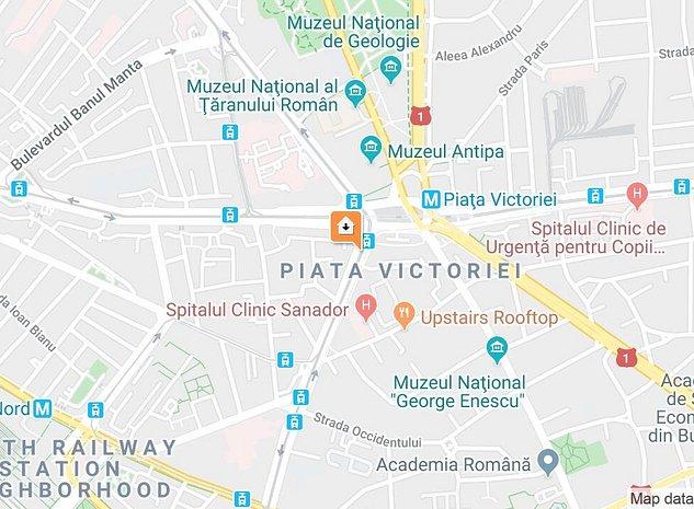 GARSONIERA SPATZIOASA ,  PIATZA VICTORIEI ! RENOVATA! - imaginea 1