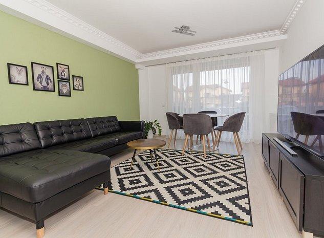 Apartament 2 camere parter -complet mobilat - imaginea 1