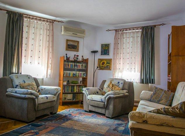 Apartament 3 camere, 87 mp, decomandat, mobilat, Metrou Eroii Revolutiei - imaginea 1