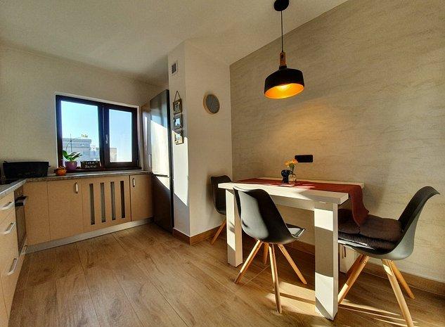 Apartament modern si luminos, 3 Camere, complet mobilat, vedere pe doua parti - imaginea 1