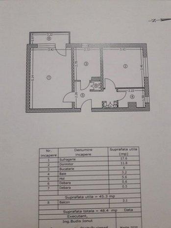 Vand apartament 2 camere Buzau Micro V - imaginea 1