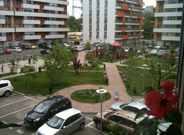 Apartament complet mobilat si utilat in Complex Residential Quadra Place - imaginea 1