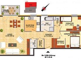 Apartament de închiriat 3 camere, în Chitila, zona Central