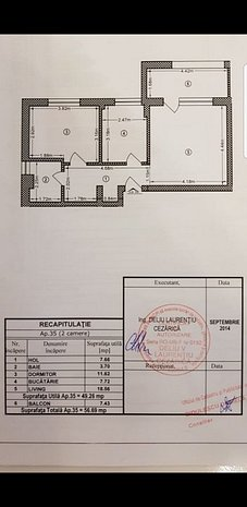 Apartament 2 camere, Sf.Agnes, Joy Residence, 5-7 minute complex La Strada - imaginea 1