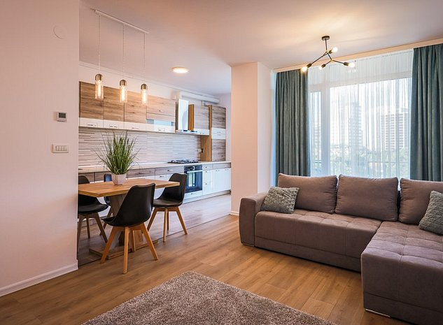 Apartament 2 camere la prima inchiriere - Nord One - zona Iulius Town - imaginea 1